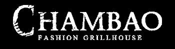 Logo Chambao Restaurant by Grupo RosaNegra